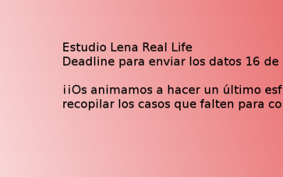 Estudio Lena Real Life